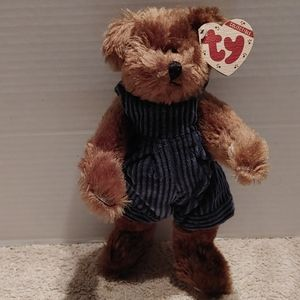 Ty collectible bear with tags. Christopher